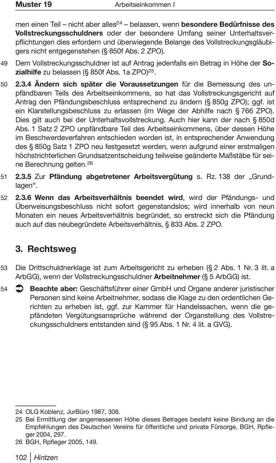 Diepold Hintzen Musterantrage Fur Pfandung Und Uberweisung 9 Auflage Pdf Free Download