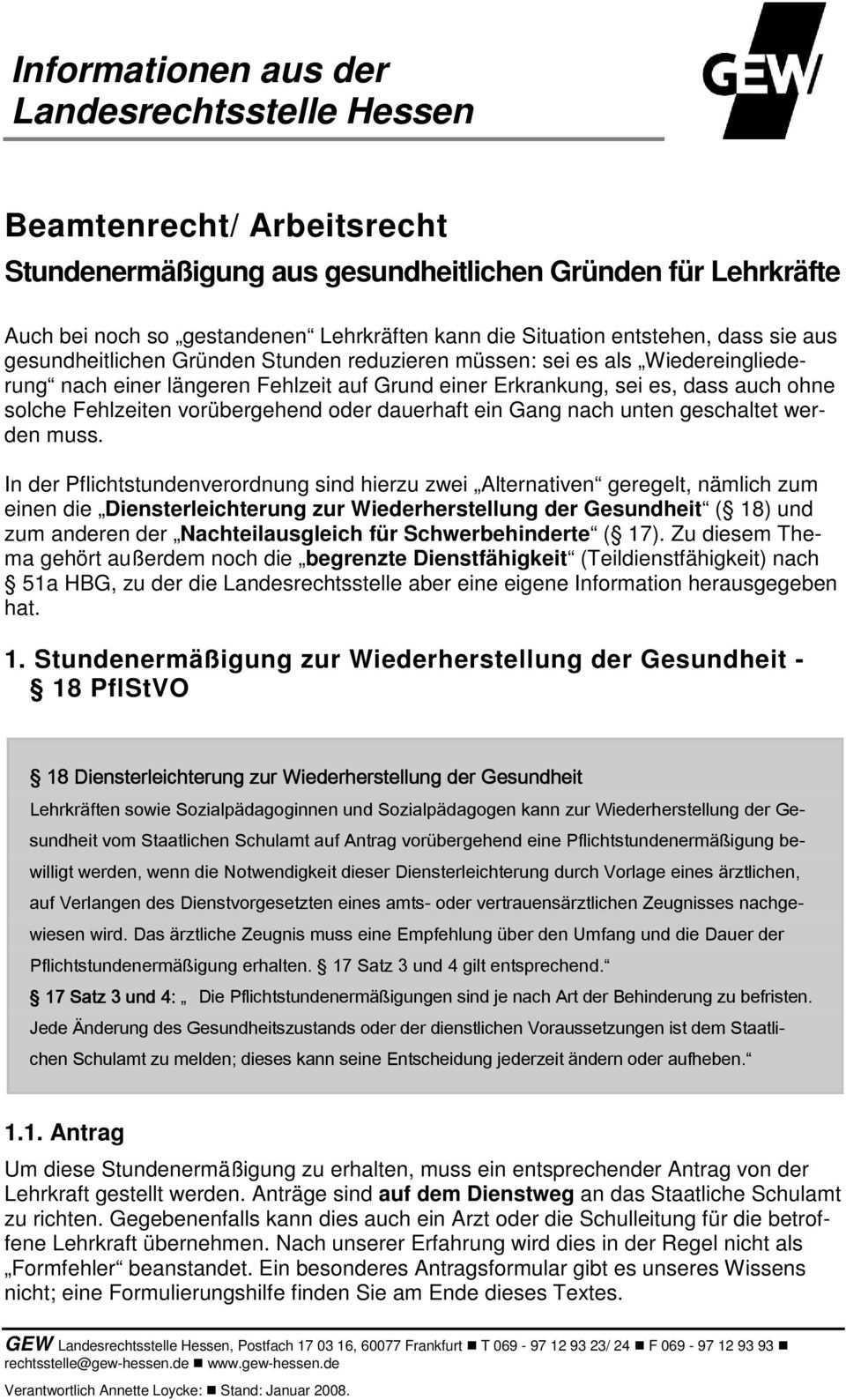 Informationen Aus Der Landesrechtsstelle Hessen Pdf Free Download