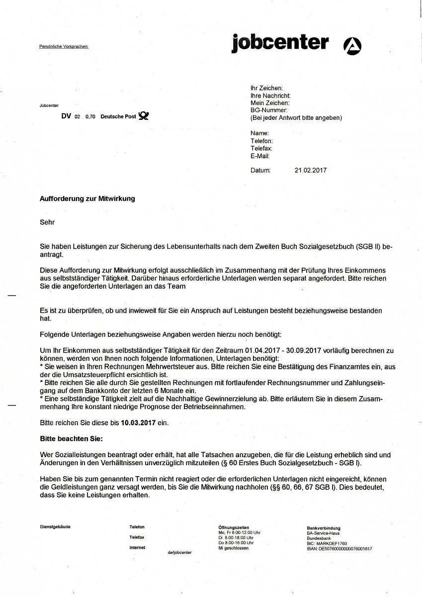 Antrag Auf Vorschuss Gemass 42 Sgb I Abgelehnt Wie Weiter Erwerbslosenforum Deutschland