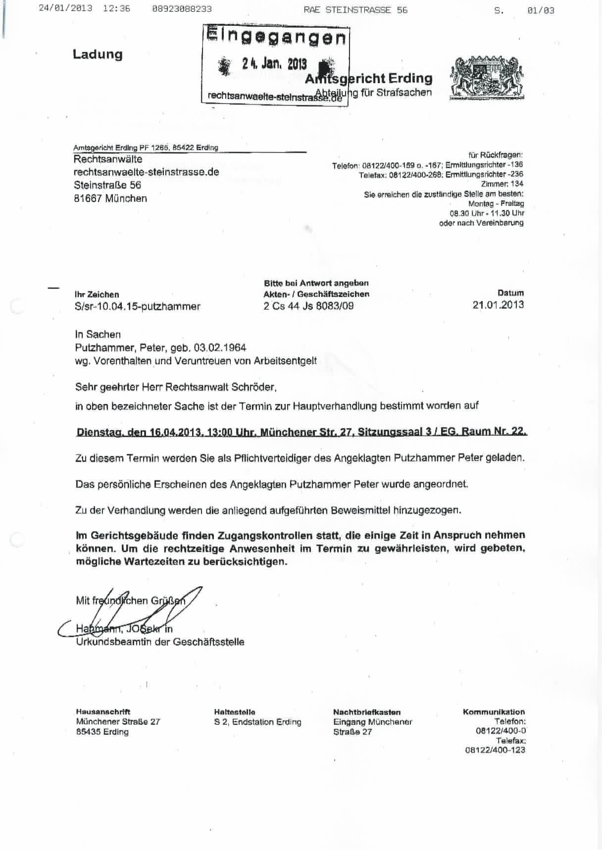 15 Anschreiben Amtsgericht Muster Dosequisseries Com