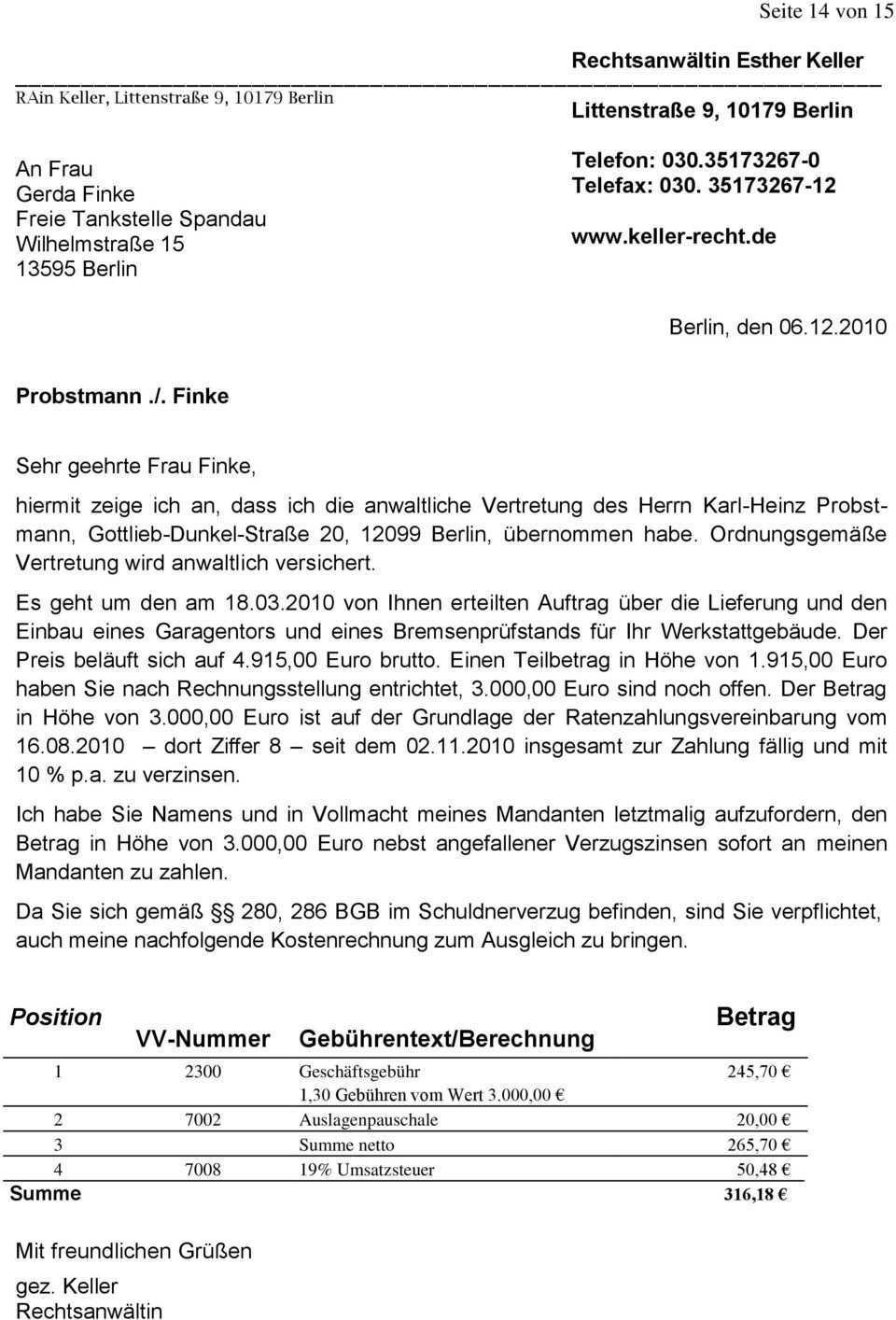 Bauunternehmer Karl Heinz Probstmann Gottlieb Dunkel Strasse 20 Berlin Und Berichtet Pdf Free Download