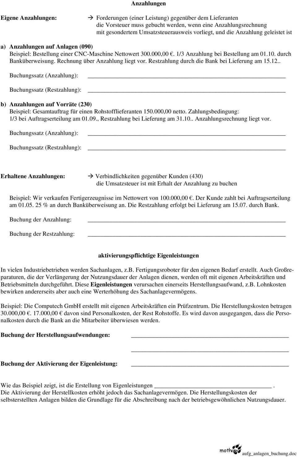 Nachtragliche Anschaffungskosten Sind Bspw Der Anbau An Ein Gebaude Oder Der Umbau Eines Gebaudes Pdf Free Download
