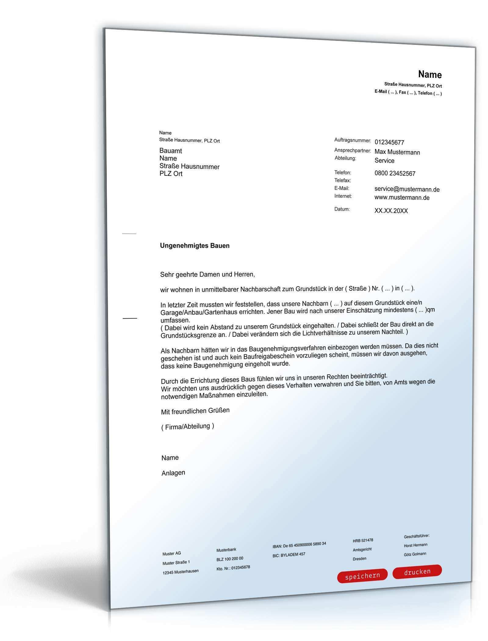 Musterbrief Paket Beschwerden Muster Vorlagen Zum Download