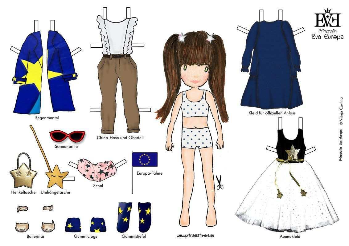 Was Soll Prinzessin Evi Heute Anziehen Drucke Die Kostenlose Anziehpuppen Vorlage Aus Die Prinzessin Eva Fur Dich In Ihre Mode Frauen Outfits Mode Fur Frauen
