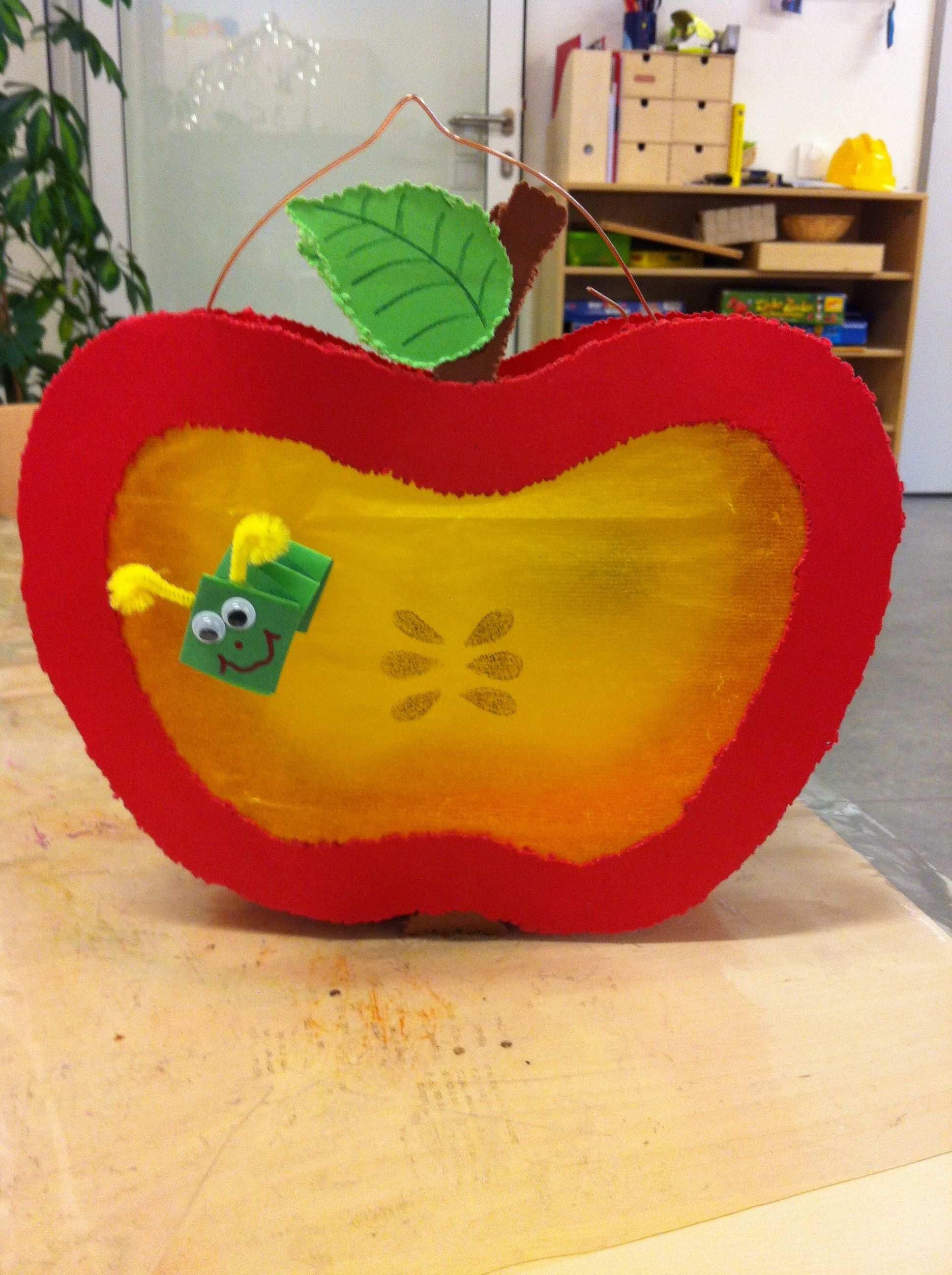 Laterne Apfel Kinder Basteln Laternen Laternen Basteln Laterne Basteln Vorlagen