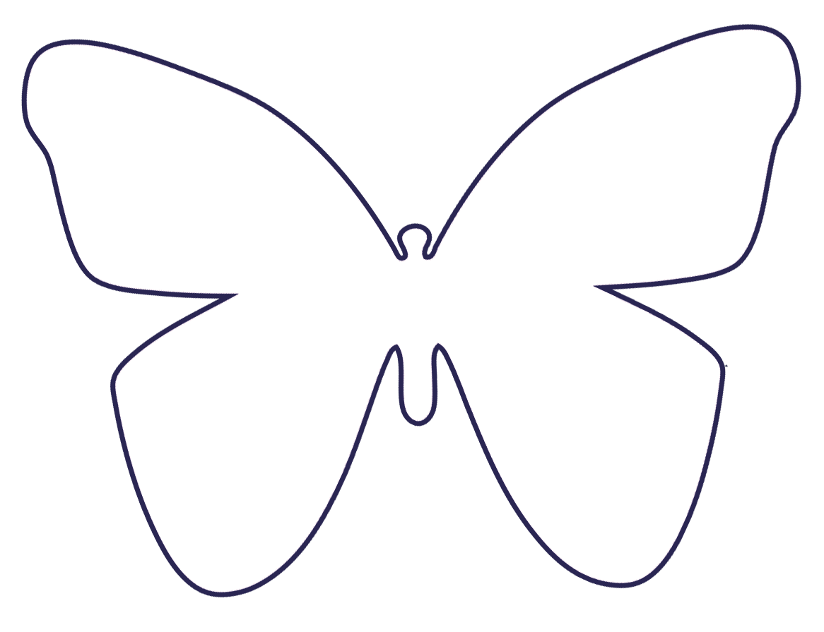 Druckvorlage Schmetterling Filzschmetterling Milka Png 1 166 895 Pixel Schmetterlinge Basteln Schmetterling Vorlage Schablone Schmetterling