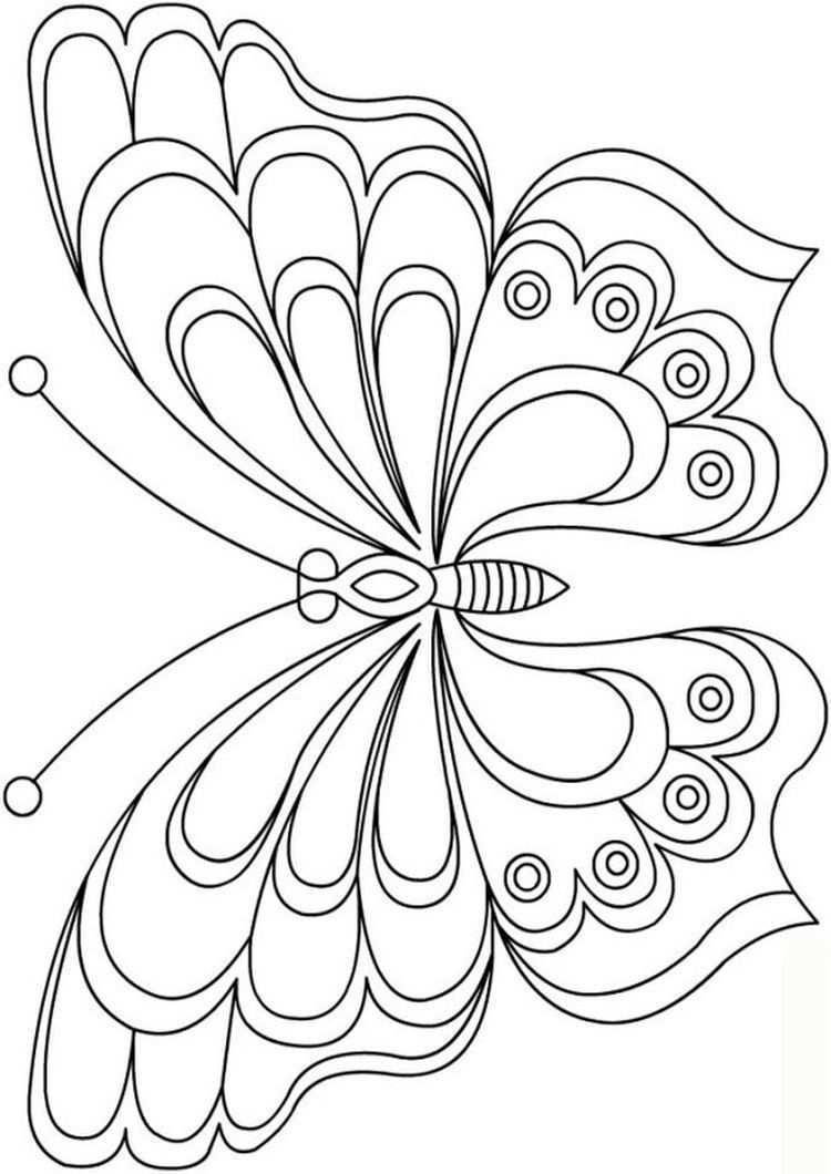 Schmetterling Vorlage Free Butterfly Pattern Templates In 2020 Schmetterling Vorlage Schmetterlingsbilder Schmetterlingszeichnung
