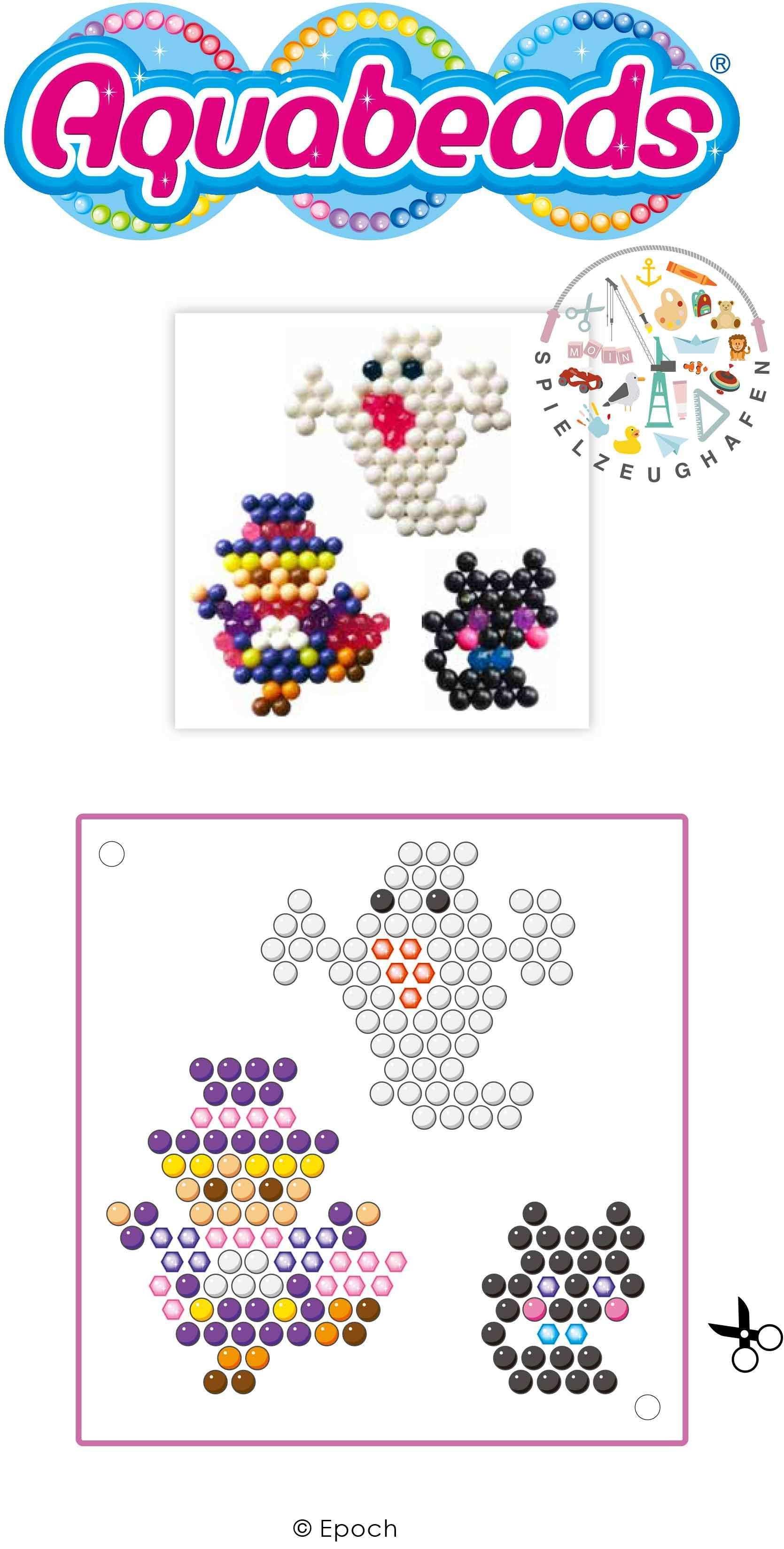 Aquabeads Ist Ein Sicheres Spielzeug Fur Kinder Ab 4 Jahren Es Wurde In Japan Entwickelt Und Ist Dort Seit 2004 Aquabeads Vorlagen Halloween Perlen Aquabeads