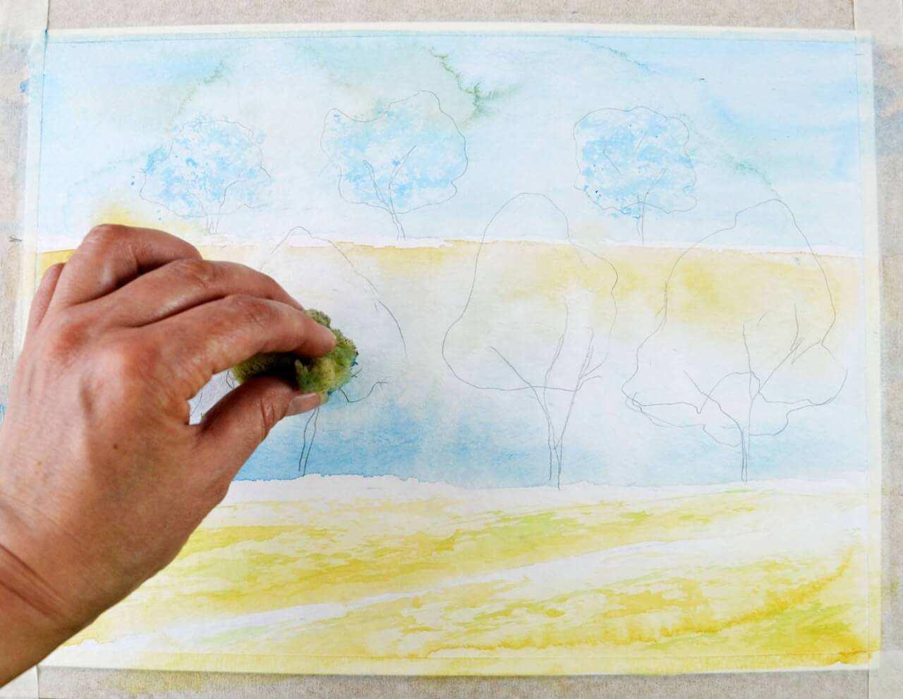 Onlinekurs Aquarellmalerei Fur Anfanger