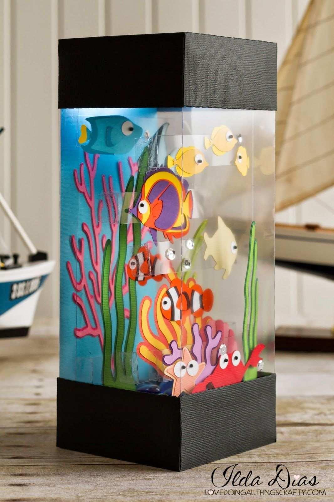 33 Paper Craft Art Crafttel Com Aquarium Craft Paper Crafts Crafts