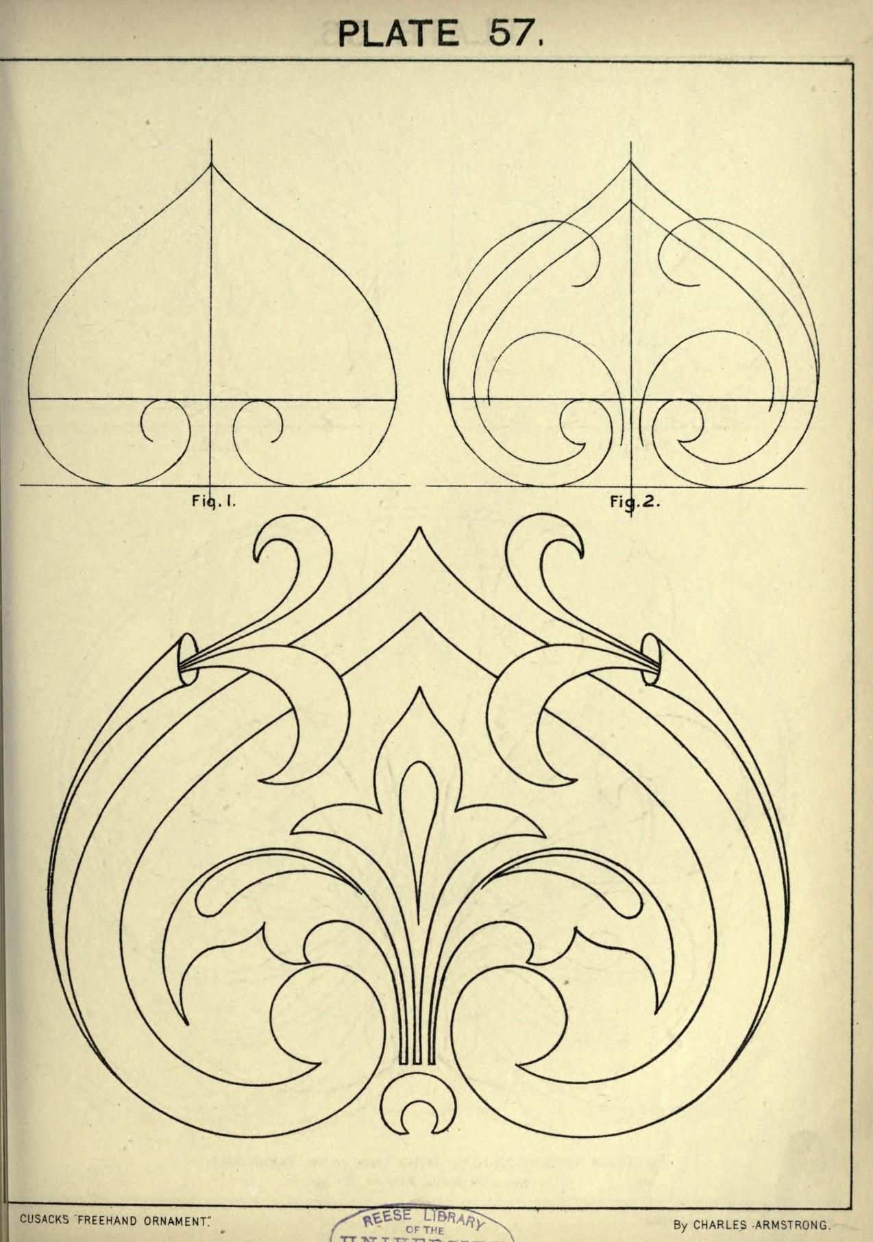 Cusack S Freehand Ornament A Text Book With Ch Jugendstil Ornamente Ornamente