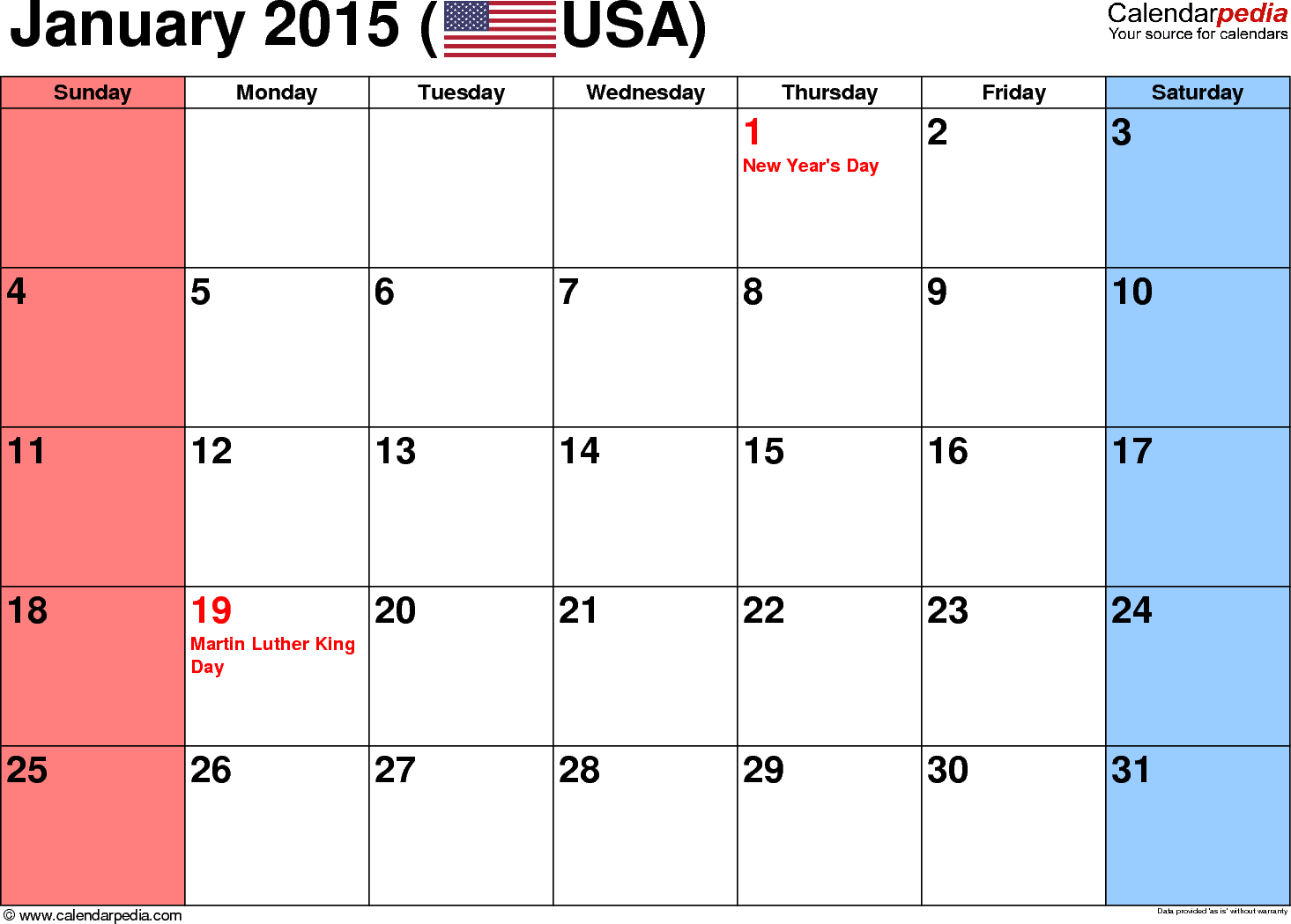 January 2015 Calendar Free Templates For Word Excel Pdf Printable Calendar Pages Printable Calendar Template Calendar Printables