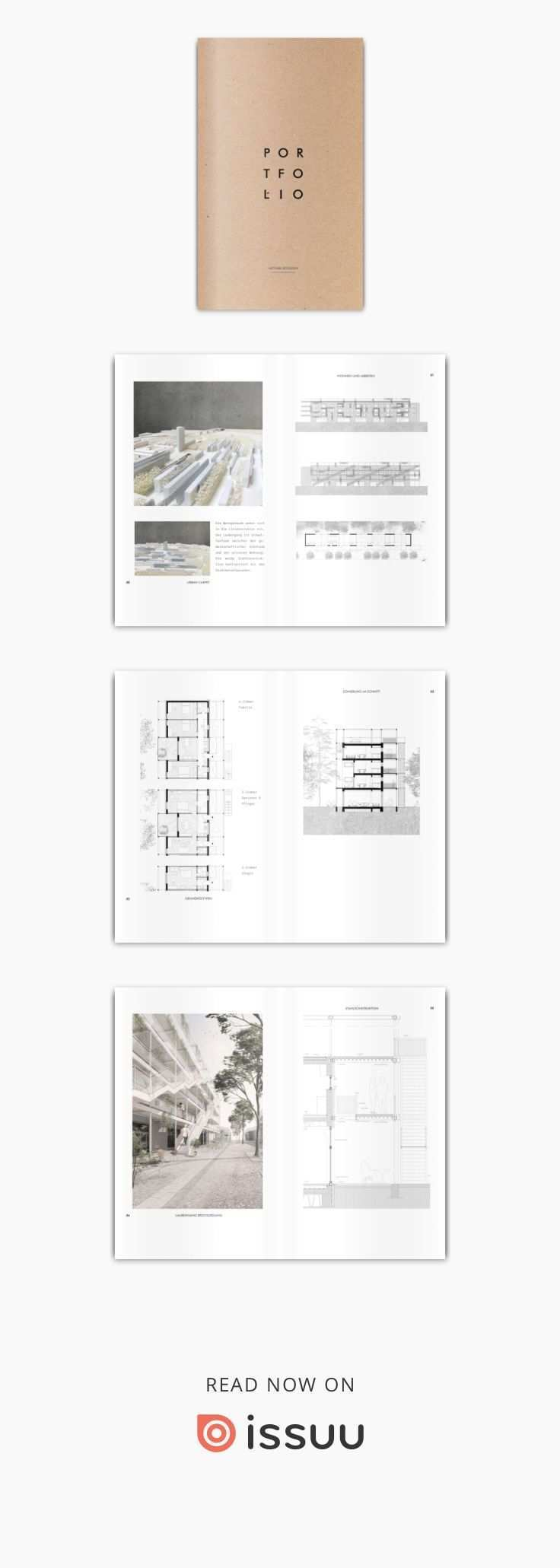 Architektur Portfolio 2018 Portfolio Design Layouts Architektur Portfolio Portfoliolayout