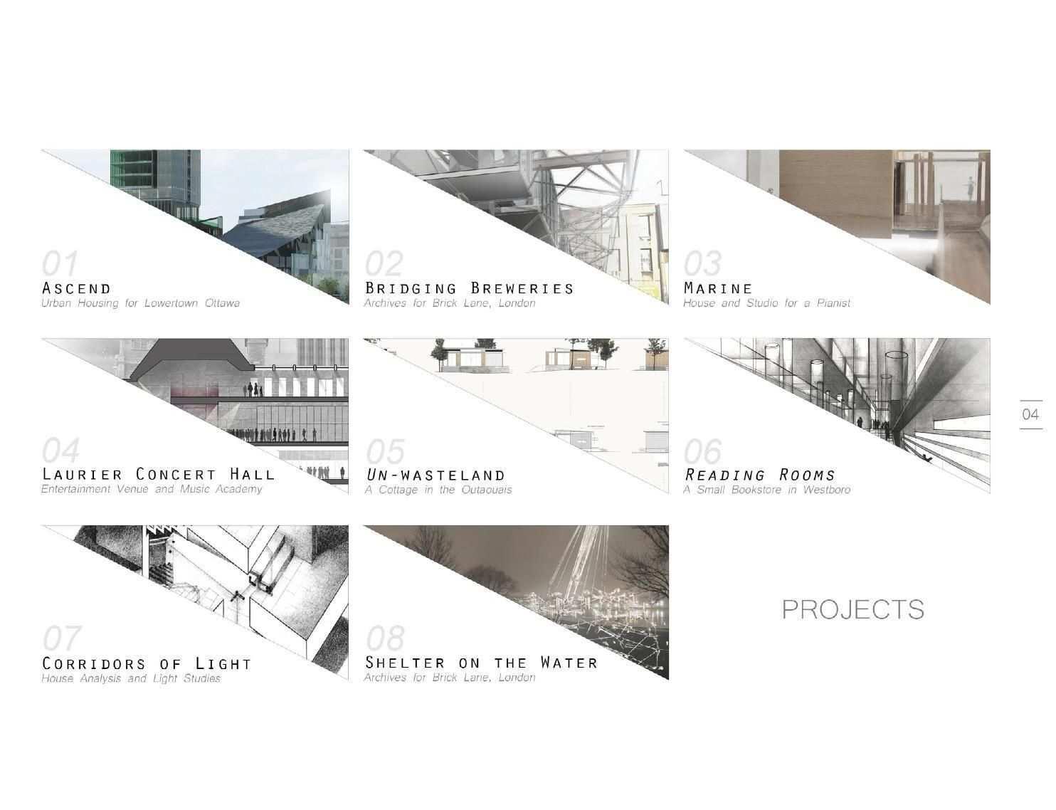 Architecture Portfolio Clippedonissuu Portfolio Design Layouts Architektur Portfolio Layout Architecture