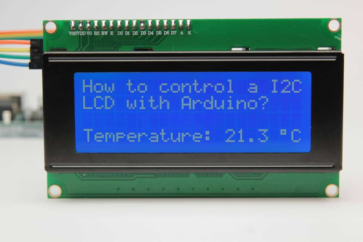 Character I2c Lcd With Arduino Tutorial 8 Examples