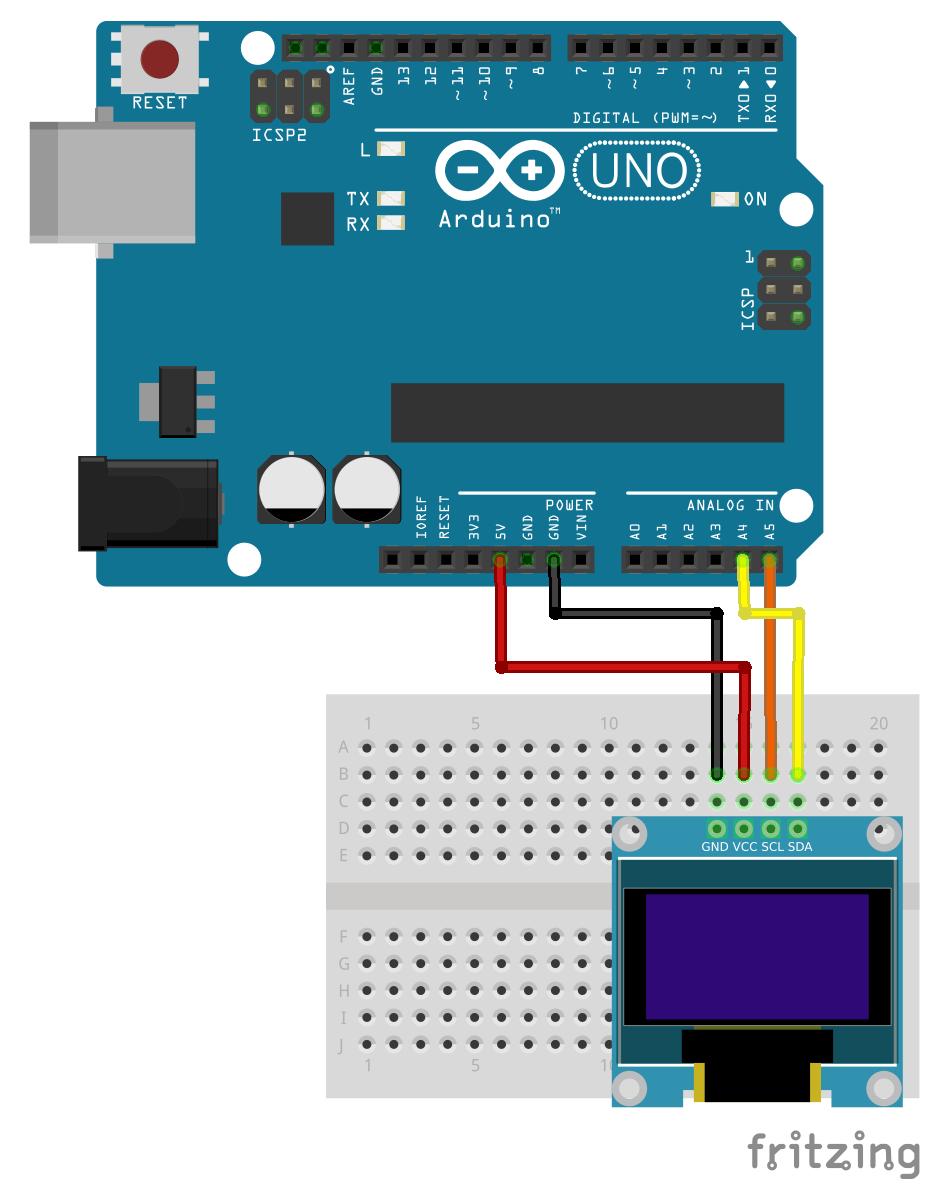 Display Animation On Oled Using Arduino I2c Arduino Arduino Display Display