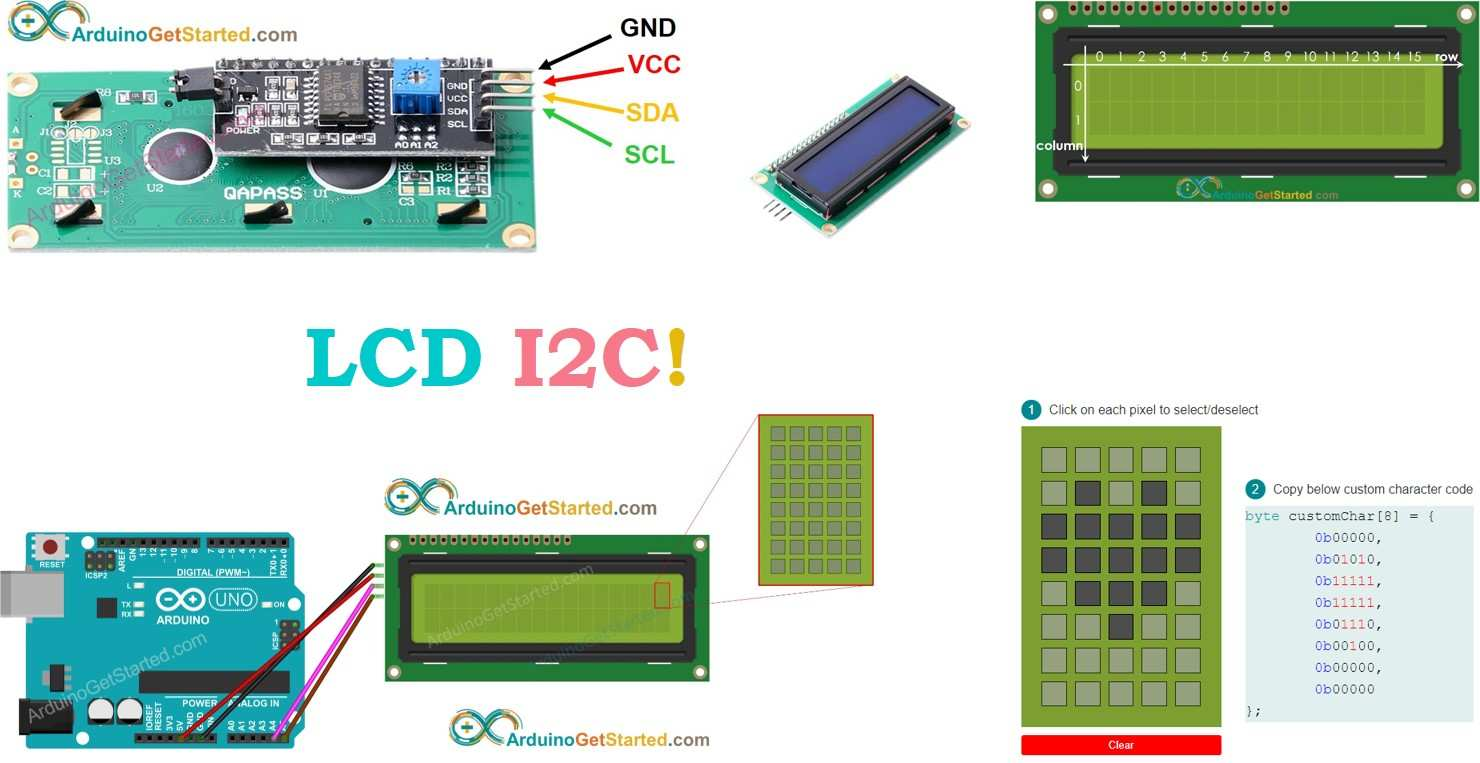 Arduino Lcd I2c Arduino Tutorial