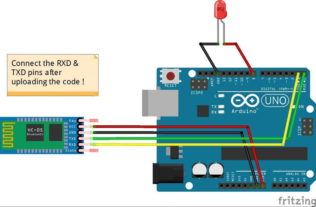 Bluetooth Control Leds Arduino Project Hub