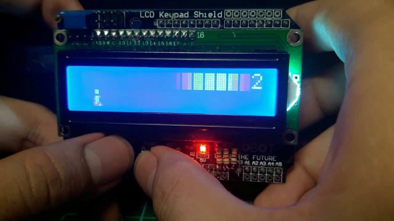 Lcd Keypad Shield Arduino Project Hub