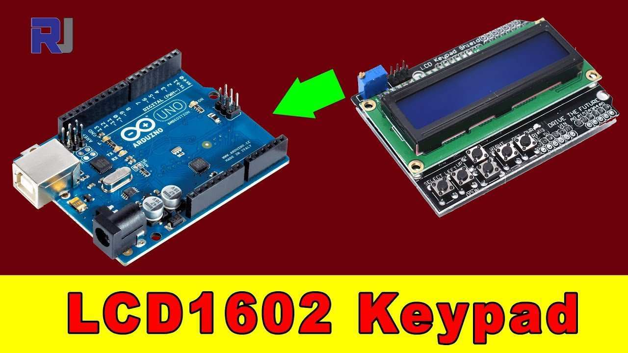 Using 1602 Lcd Kaypad Shield For Arduino Youtube
