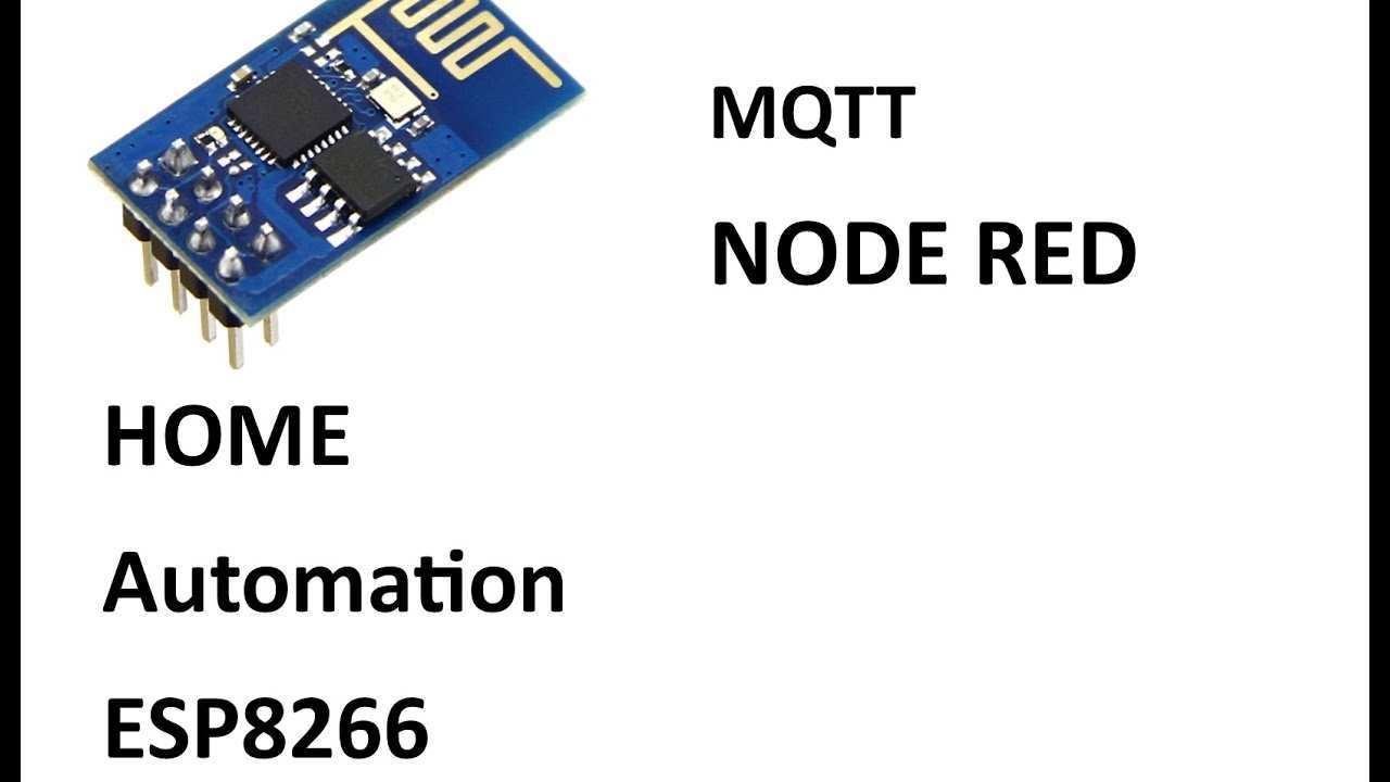 Esp8266 Home Automation Mqtt Arduino Youtube