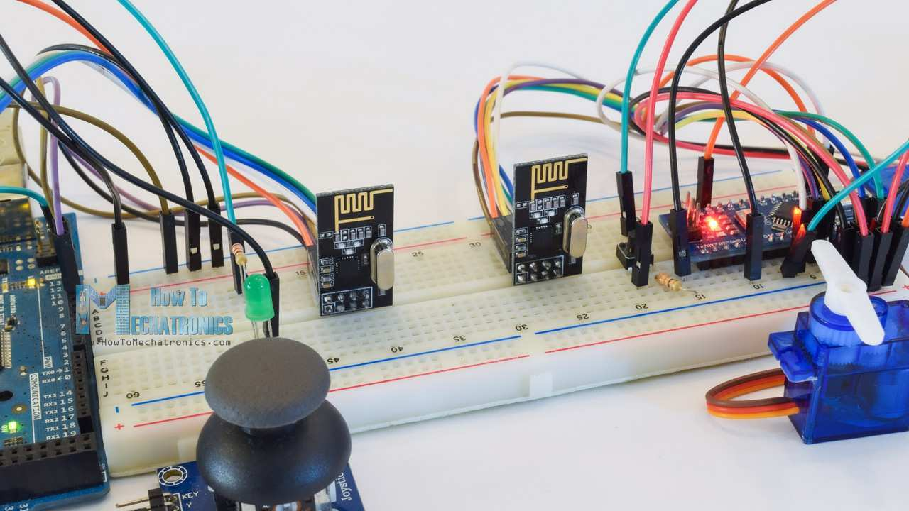 Nrf24l01 How It Works Arduino Interface Code Schematic