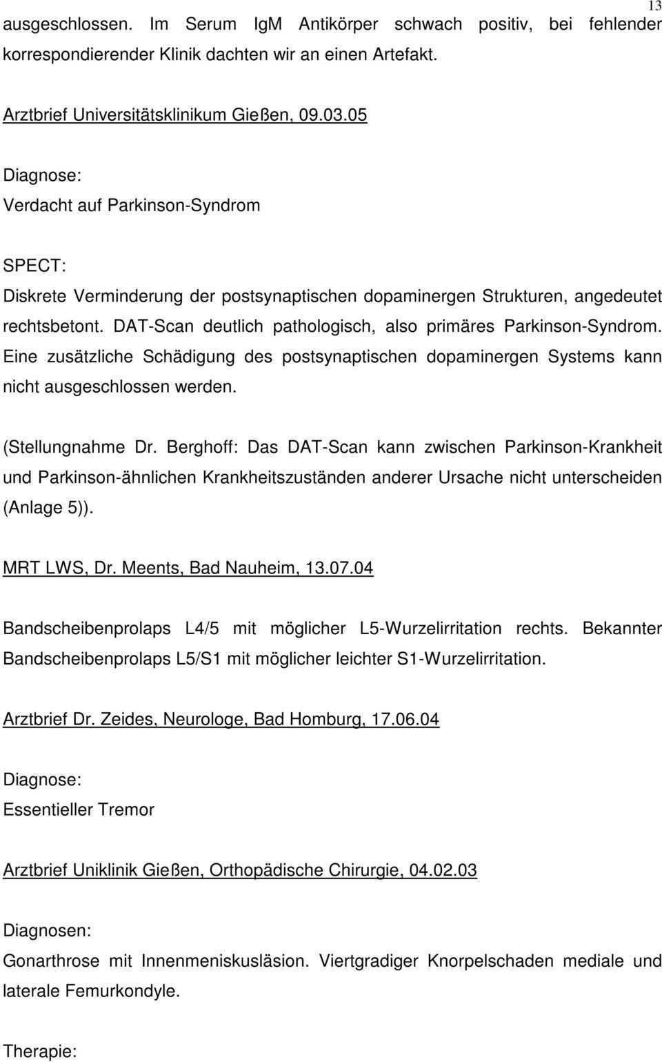 Priv Doz Dr Med W Berghoff Telemannstrasse 1 Facharzt Fur Innere Medizin Rheinbach Den Telefon Telefax Pdf Free Download