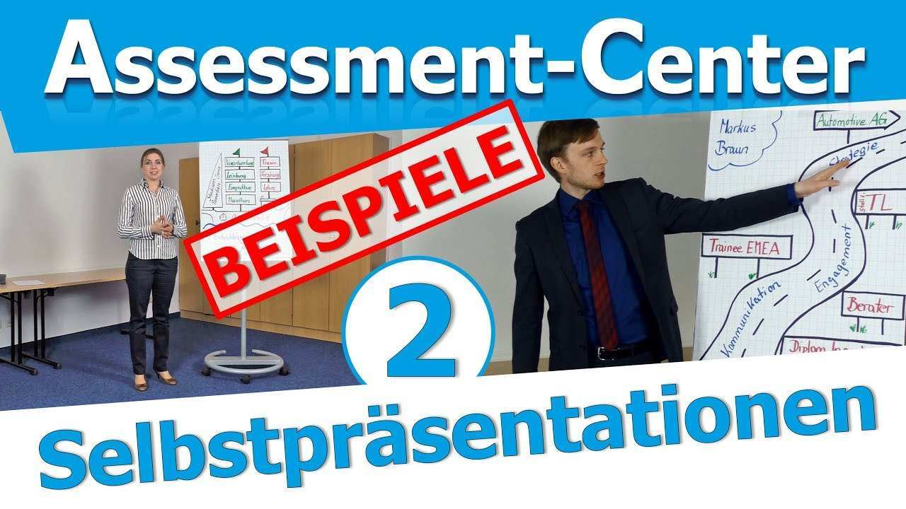 Assessment Center Selbstprasentation 2 Beispiele Von Bewerbern Im Ac Youtube