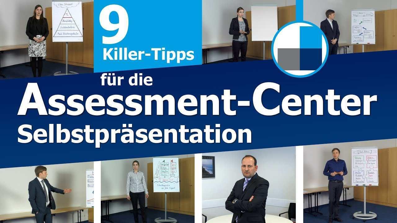 Assessment Center 9 Killer Tipps Fur Die Selbstprasentation Im Ac Beispiele Youtube