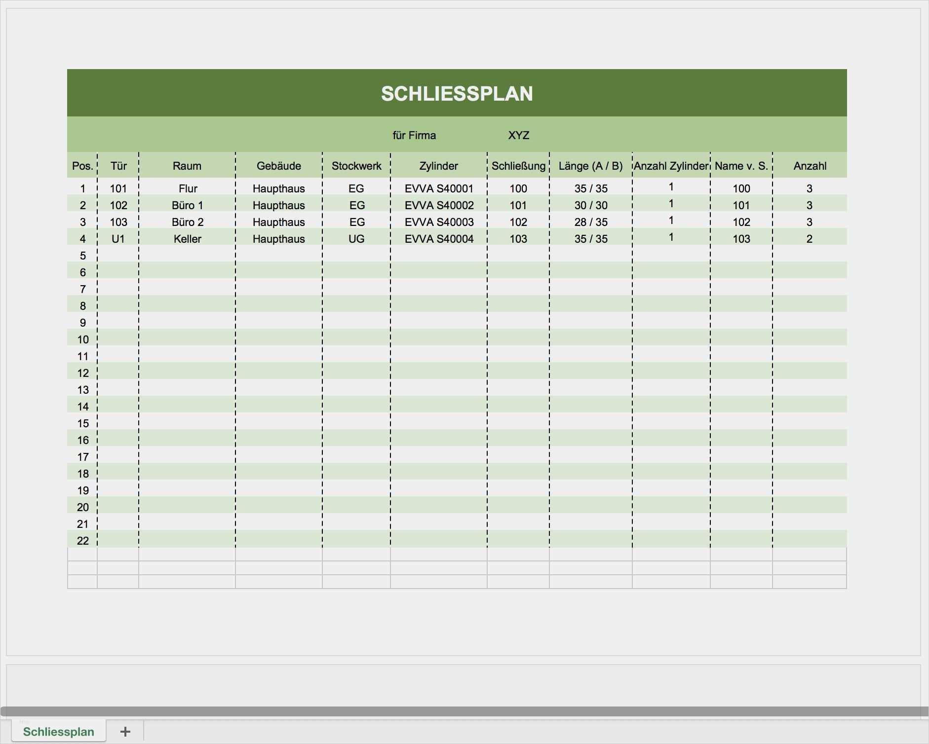Aufgabenliste Excel Vorlage