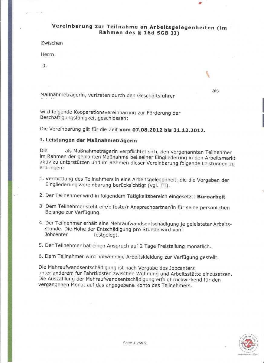 Verwaltungsakt Direkt Vor Ortseite 2 Erwerbslosenforum Deutschland