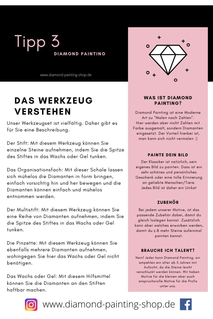 Diamond Painting Tipp 3 Fur Einsteiger Anfanger Malen Nach Zahlen Tipps Und Tricks Painting