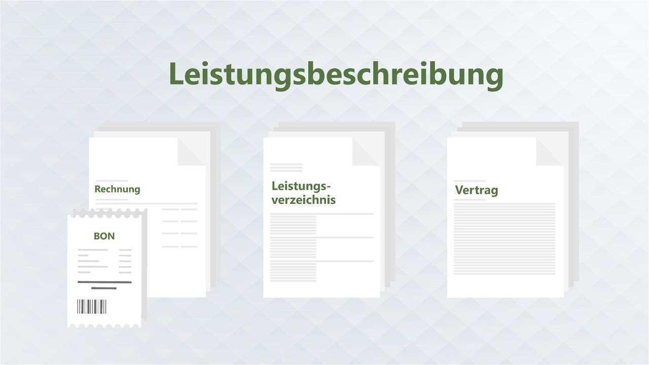 Auftragsbestatigung Vorlage Fur Leistungsbeschreibung Nutzen Datev Trialog Magazin