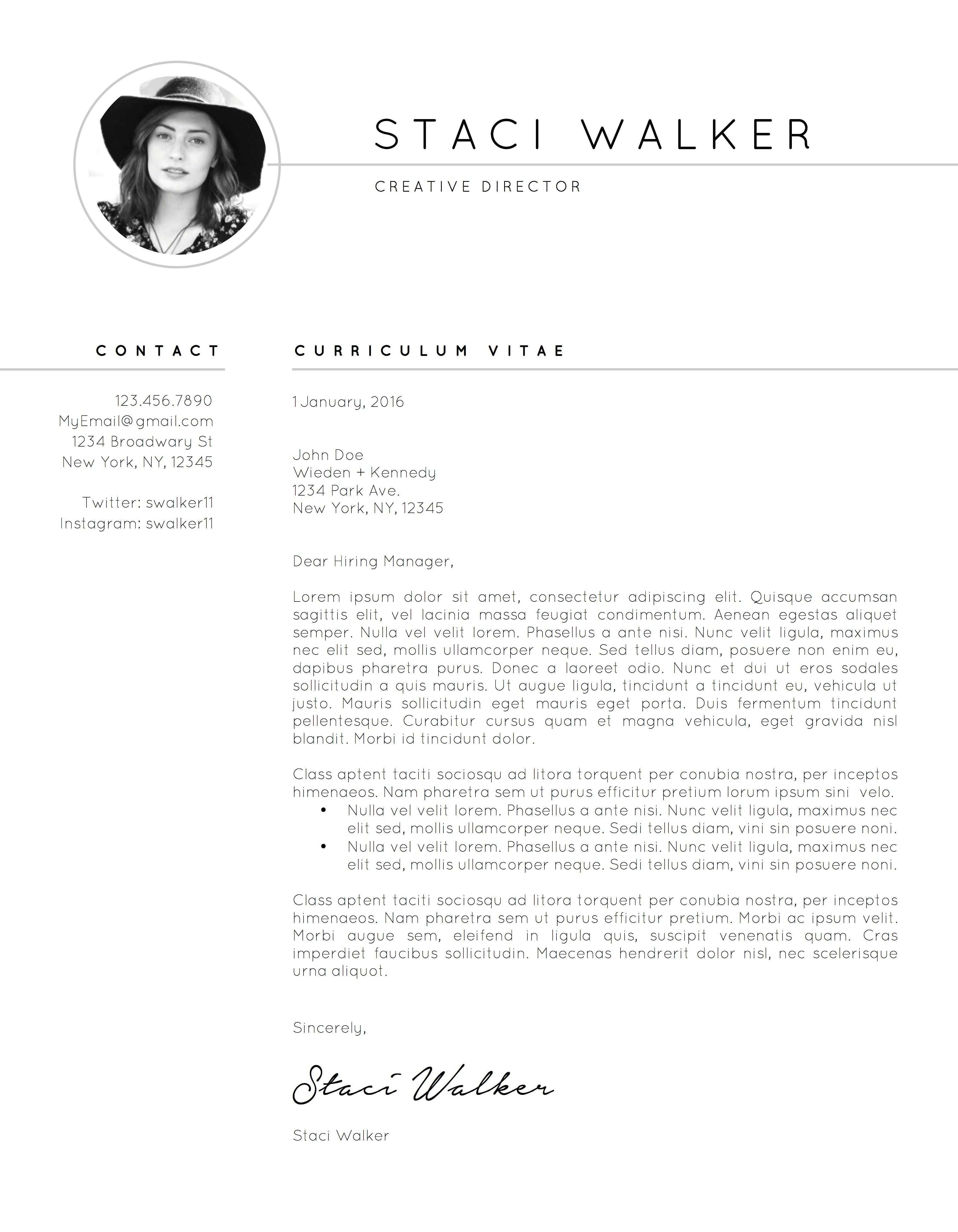 Resume Template Cv Cover Letter By The Creative Resume On Creativemarket Modern Resume Template Resume Design Template Resume