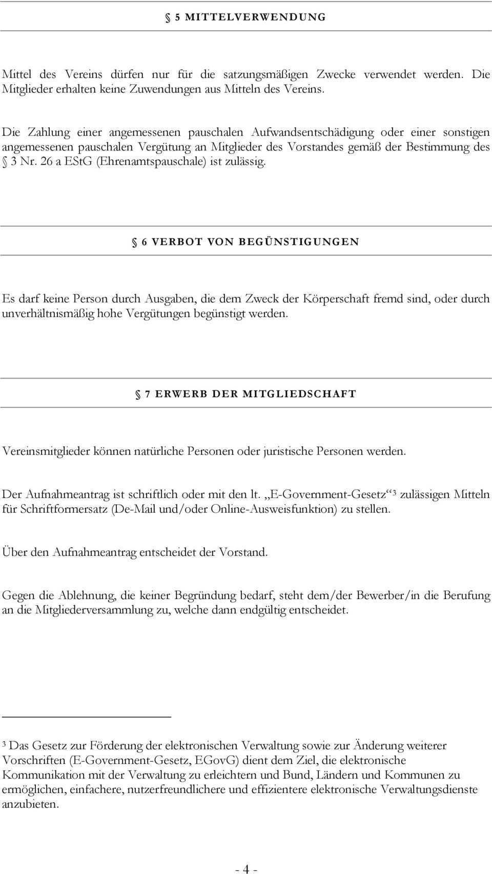 Buergerservice Org Satzung Fur Den Gemeinnutzigen Verein Buergerservice Org Pdf Free Download
