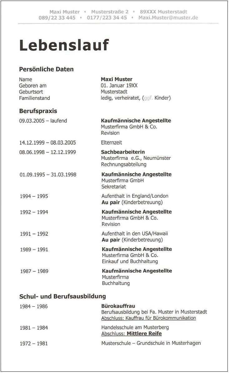 4 Aktueller Moderner Ausfuhrlicher Lebenslauf Id 445 Seite 1 2 Lebenslauf Vorlagen Lebenslauf Lebenslauf Muster