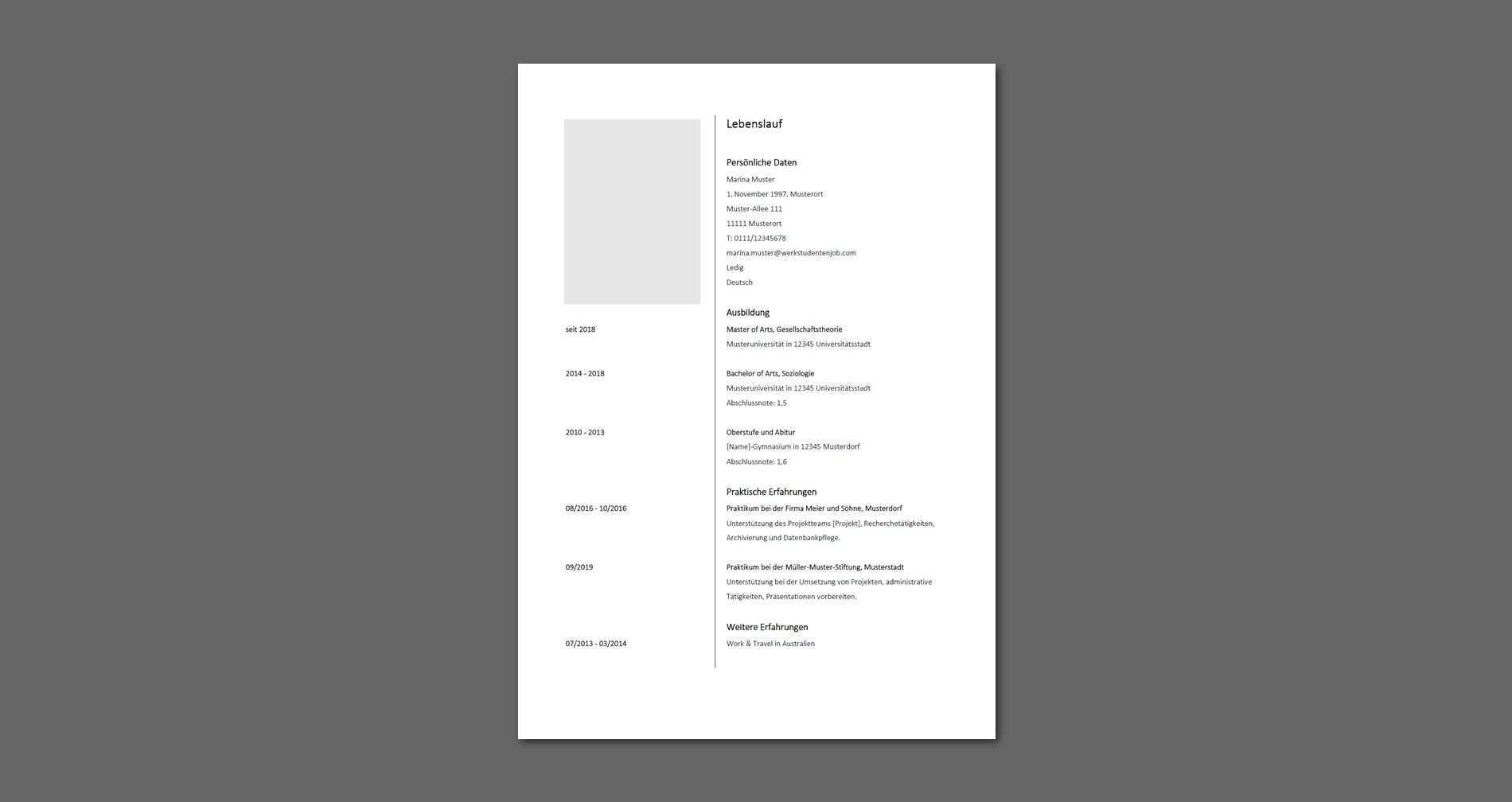 15 Einfacher Lebenslauf Vorlagen In 2020 Invitation Cards Bar Chart Invitations