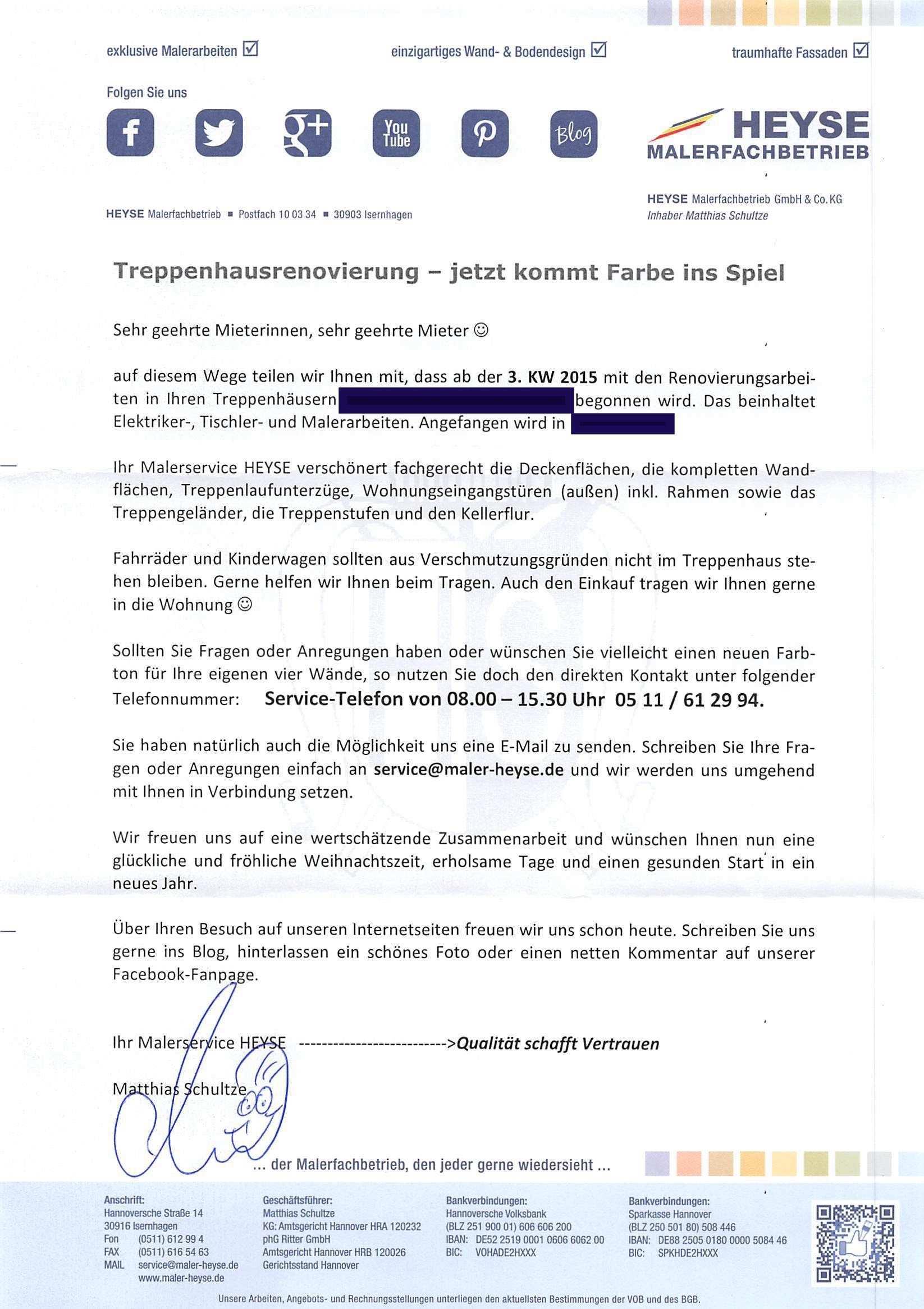 Treppenhauser Renovieren Mieter Wollen Vorher Informiert Werden Meinmaler Partner Netzwerk
