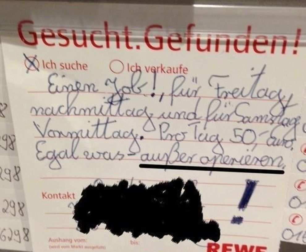 18 Leute Die Wissen Wie Das Schwarze Brett Im Supermarkt Funktioniert Mama Witze Lustig Coole Spruche