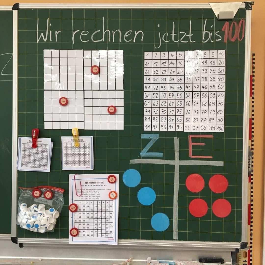 Gefallt 186 Mal 4 Kommentare Grundschullehrerin Lernmittel Hausgemacht Auf Instagram Meine Mathetafel Fur Di Unterrichtseinstieg Grundschullehrer Mathe