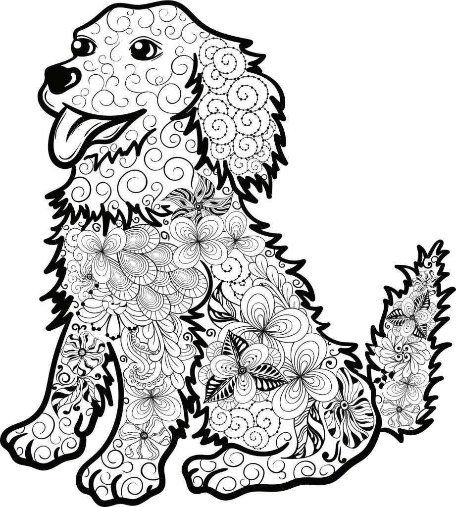 Ausmalbilder Tiere Mandala Zum Ausdrucken Mandala Tiere Ausmalbilder Hunde Mandala Zum Ausdrucken