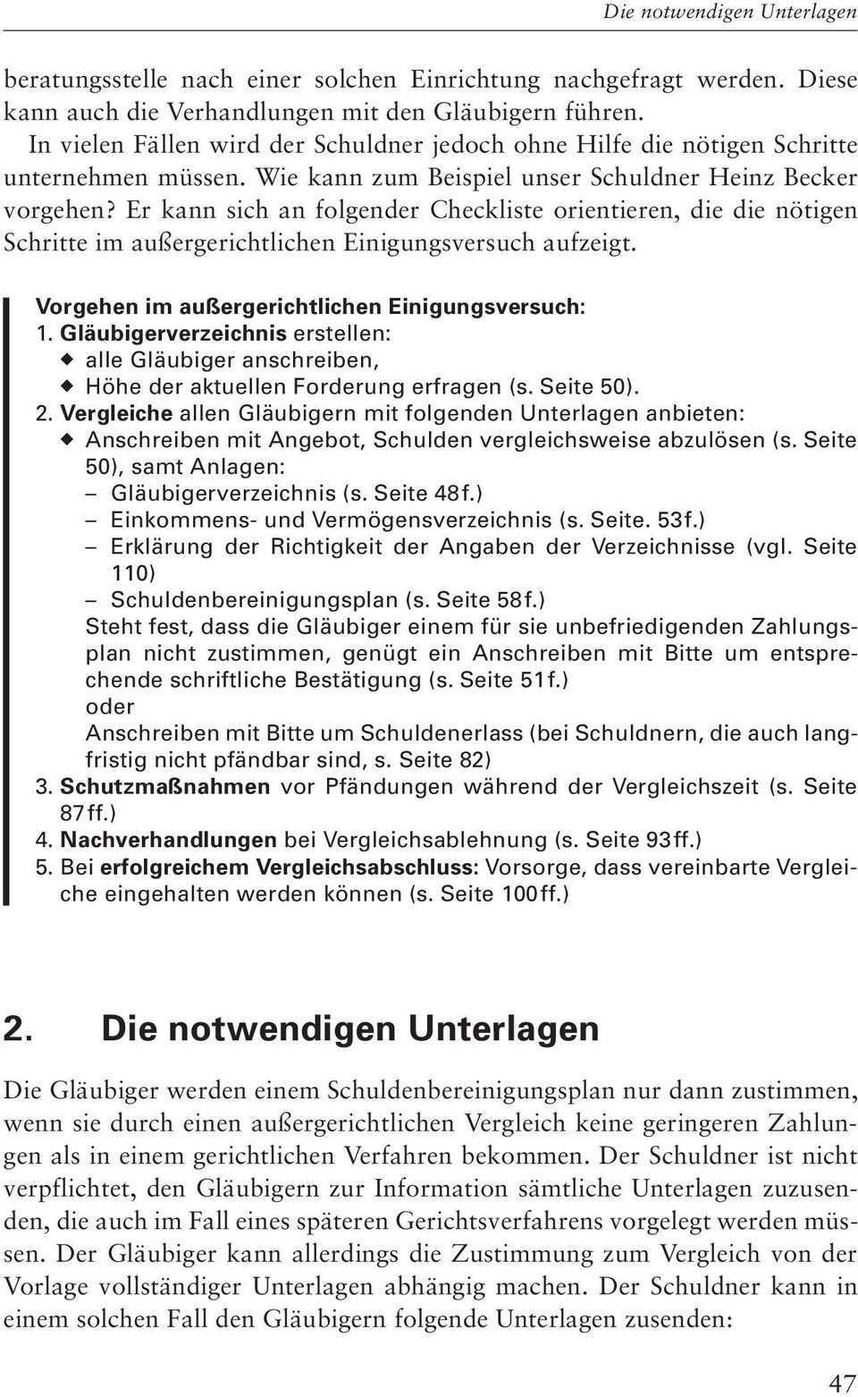D Der Aussergerichtliche Einigungsversuch Pdf Kostenfreier Download