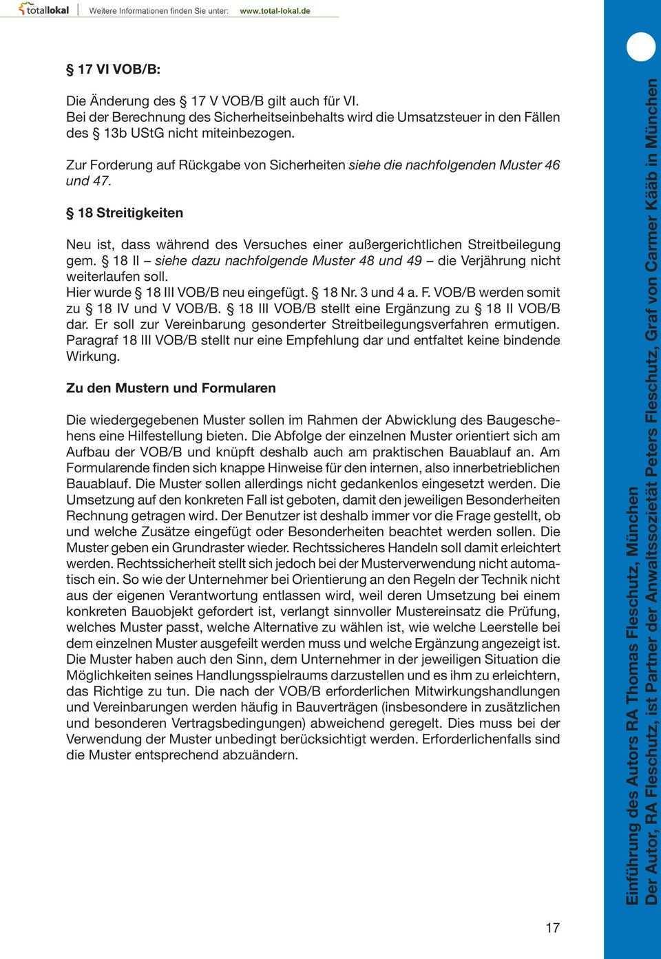 Mustersammlung Vob B Kreishandwerkerschaft Monchengladbach Pdf Kostenfreier Download