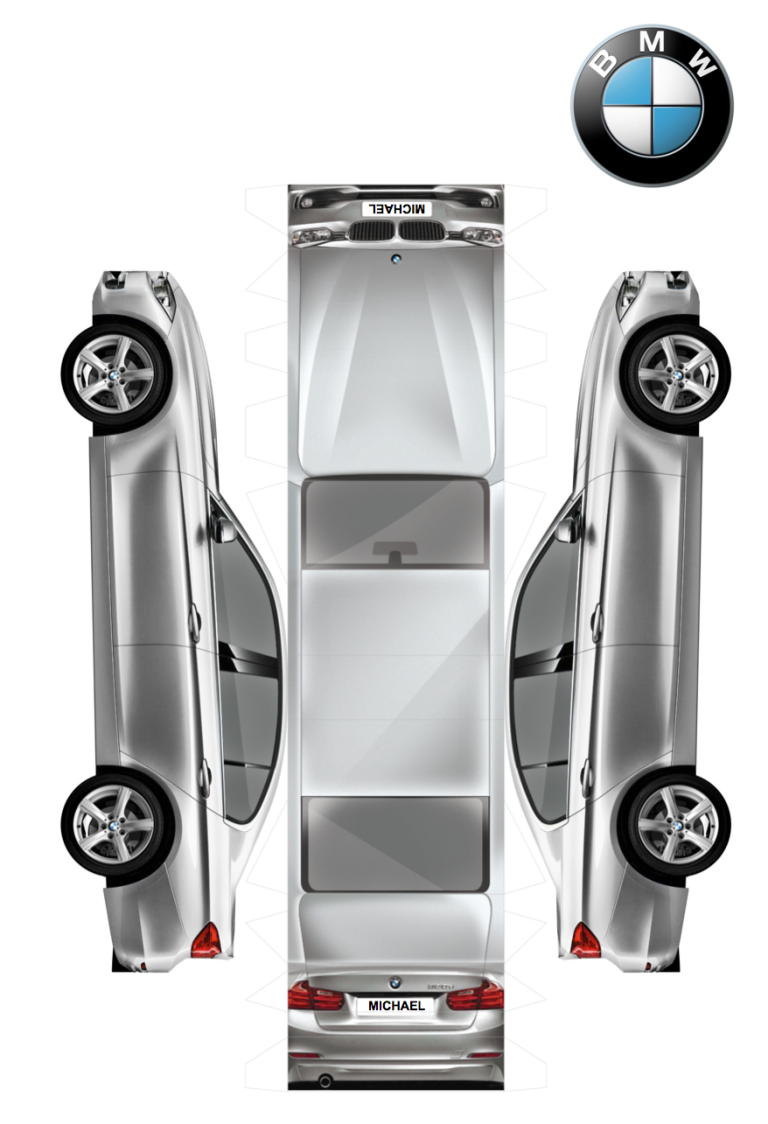 Paper Toys By Audi And Bmw Paper Toys Paper Models Paper Car