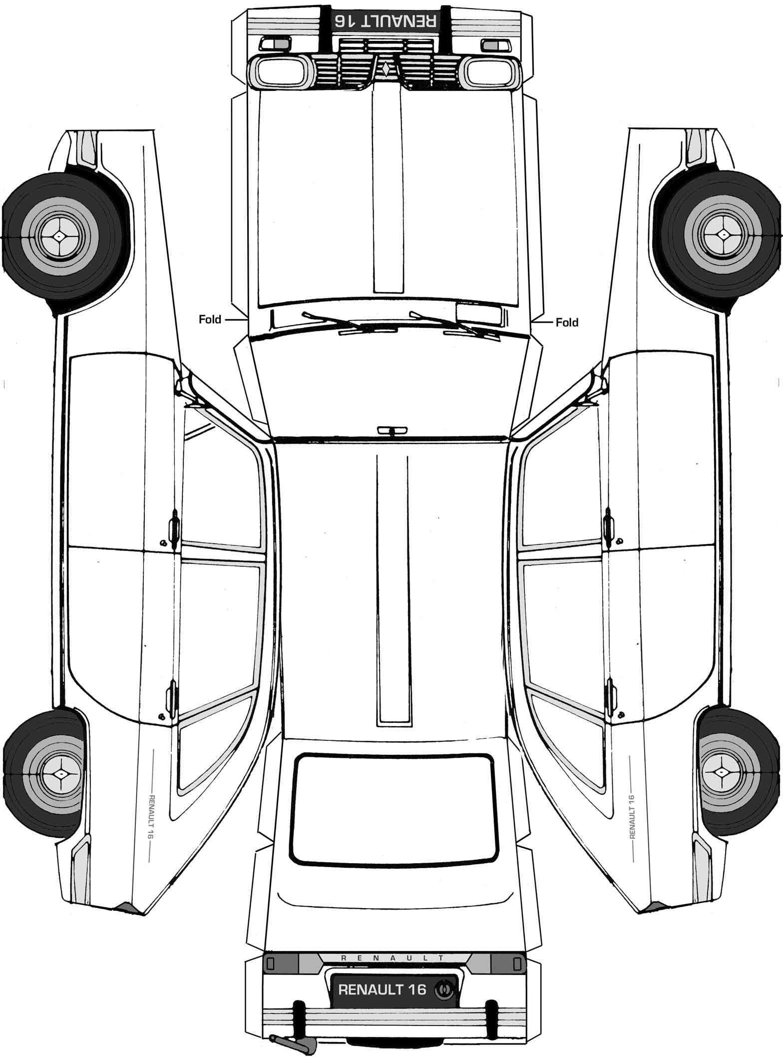 Highres Jpg 1 568 2 116 Pixel Paper Model Car Paper Toys Template Paper Models