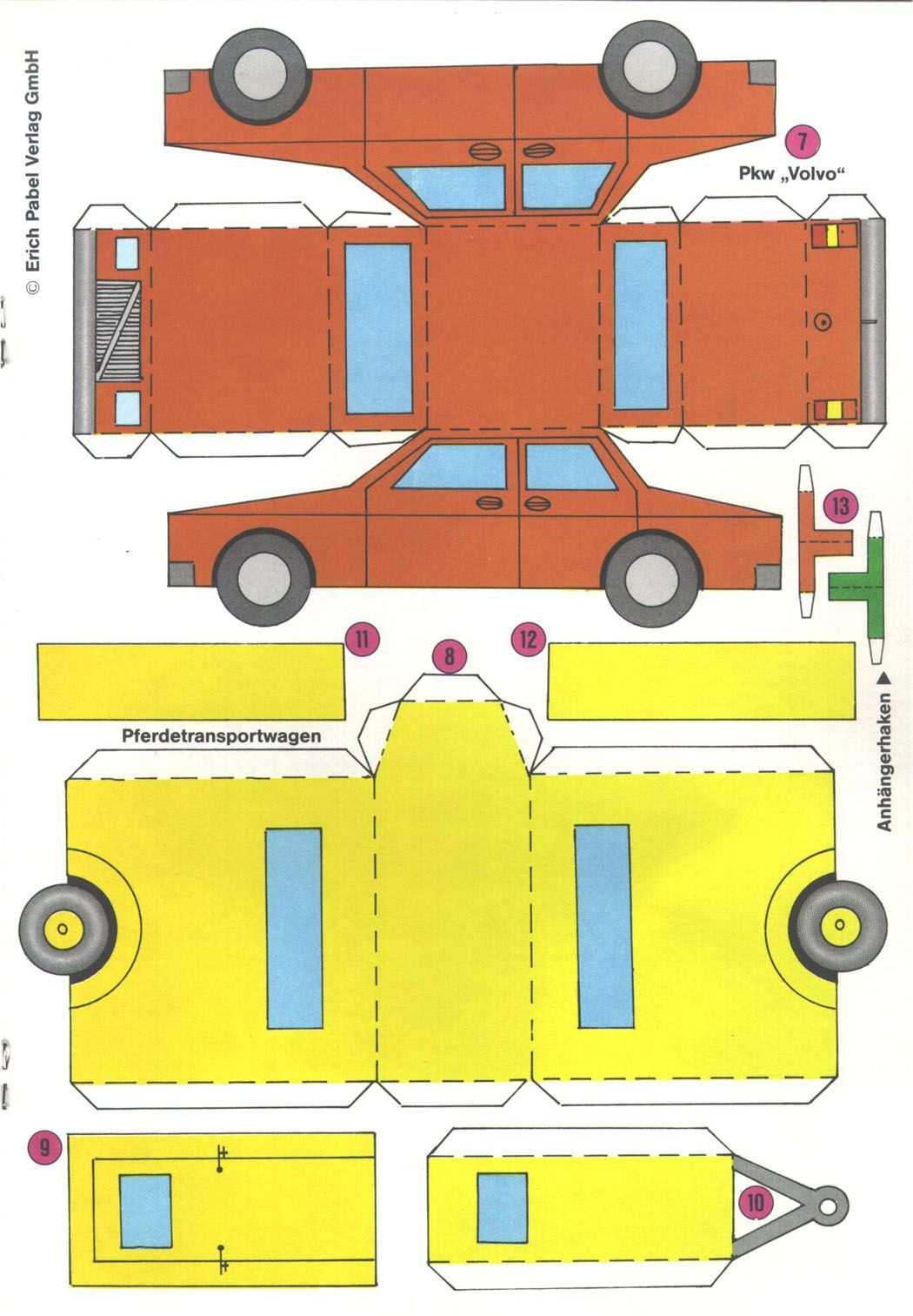 Datei 1983 43 Bb 5b Jpg Bastelbogen Auto Basteln Geldgeschenk Hochzeit Verpacken