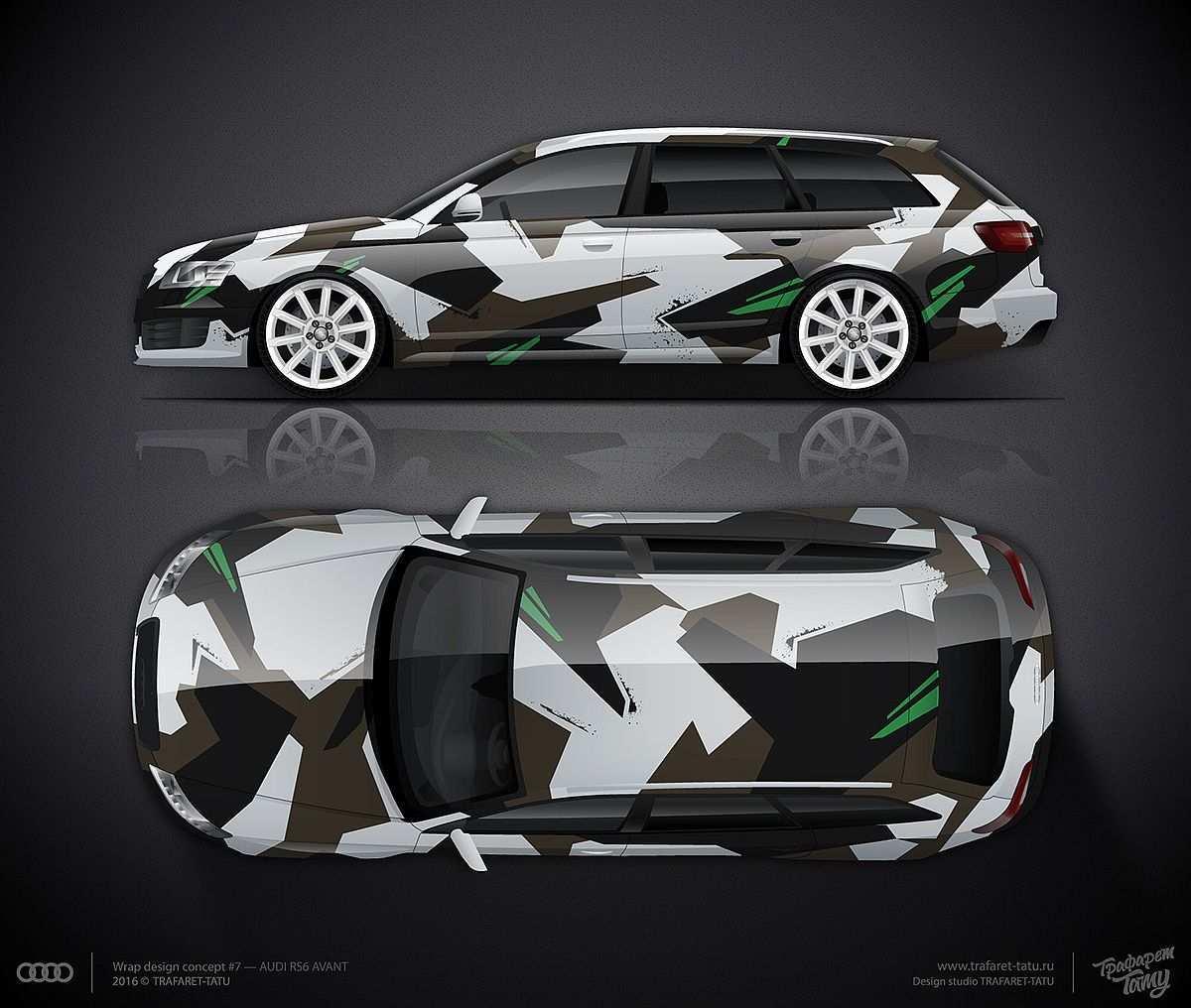 Design Consept 7 For Audi Rs6 Avant Autofolierung Autos Folieren Auto Zeichnen