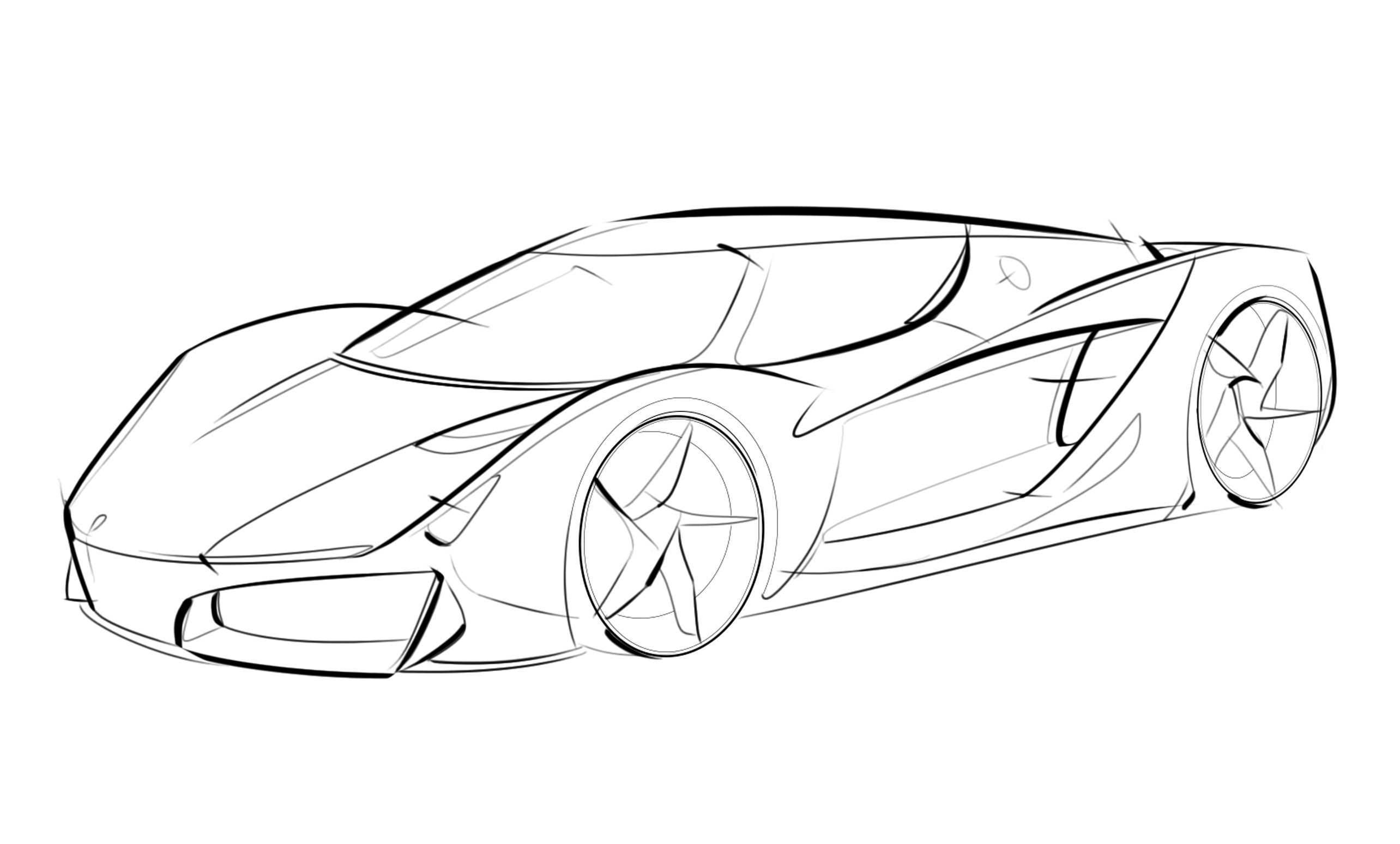 I G Concept Car Sketch Auto Zeichnen Autos Zeichnen