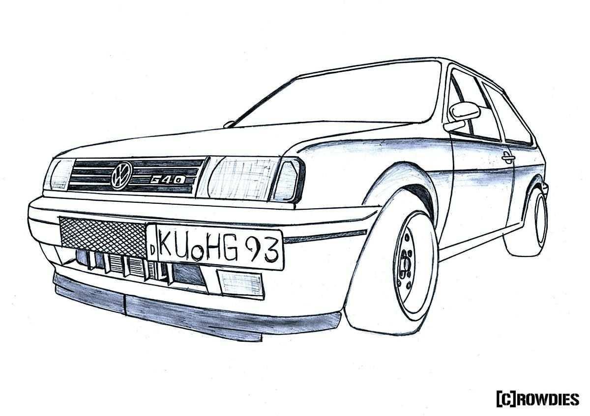 Drawing Zeichnung Tuning Drawings Car Car Art