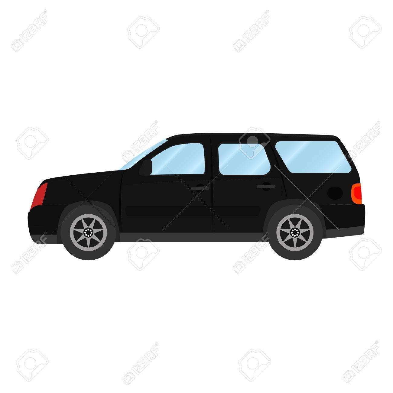 Auto Vektor Vorlage Auf Weissem Hintergrund Lizenzfrei Nutzbare Vektorgrafiken Clip Arts Illustrationen Image 76434658